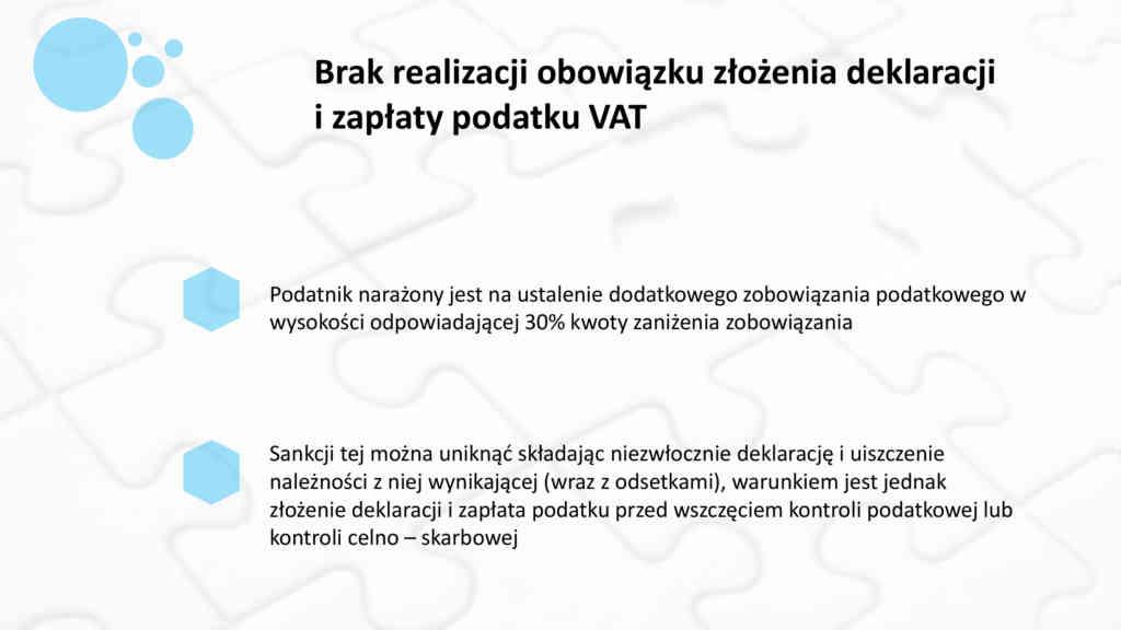 Obowiązkowe rozliczanie podatku VAT